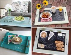 bandejas con madera reciclada Ideas Para, Tilos, Zero Waste, Maid, Furniture Ideas, Florida, Home Decor, House, Craft
