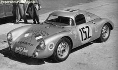 Porsche 550 coupe 1953 Carrera Panamericana Winner & the Beginning of the legendary name