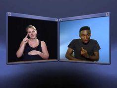 DTV Sign Language - Pregnancy and Babies Sign Language Basics, Sign Language Phrases, Sign Language Interpreter, Asl Words, Asl Videos, Dtv, Pregnancy, African, Babies