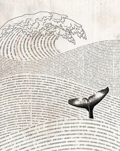 What an incredibly literary Moby-Dick whale! By Lim Heng Swee. http://www.penguinenglishlibrary.com/#!moby-dick