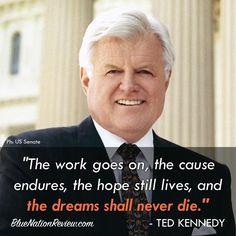 Opening of the Edward M. Kennedy Institute for the US Senate. #UniteBlue. #VoteBlue.