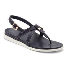 2c372bd6258c Vionic Palm Veranda- Women s Platform Sandal Navy - 7 Medium