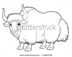 7 Best Yaks Images Clip Art Animal Drawings Art Clipart