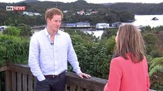 """Prince Harry On Love, Life And The Army - Sky News // May 11, 2015. In an exclusive interview with Sky News during a tour Down Under, Prince Harry says he would like to meet someone he could """"share the pressure"""" with, adding he """"would love to have kids right now""""."""