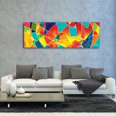 Cuadro Reguero de Alegría 180cm x 60cm by Glojag Monalisa, Wall Paintings, Contemporary Abstract Art, Irene, Amanda, Sketches, Artist, Inspiration, Home Decor
