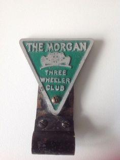 Rare #Morgan Three Wheeler Club #CarBadge, £42 by Heathers Vintage Emporium - Rare Morgan Three Wheeler Car Badge (Year unknown)