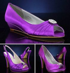 Purple wedding shoes from Bridalshoes.com   http://www.weddingwindow.com/blog/2012/05/21/purple-wedding-shoes-from-bridalshoes-com/#