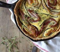 Bacon Zucchini Quiche | 35 Delicious Ways To Use Zucchini
