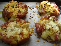 Crushed New Potatoes-