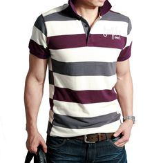 Polo T Shirts For Men | shipping! Men's steak shirts,polo t-shirts,100% cotton t shirt polo ...