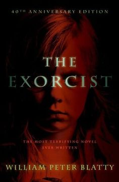 William Peter Blatty's The Exorcist makes our list of best Halloween books for adults. There are some scary stories in here!