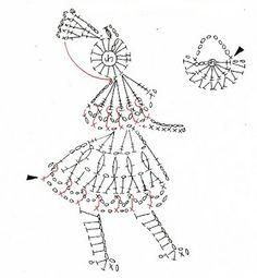 Figuras en crochet para tejer : cosascositasycosotasconmesh