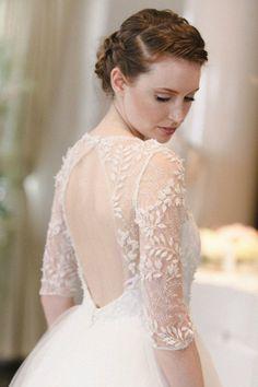 Bridal runway trends: Sareh Nouri wedding dress