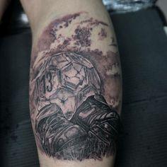 My football tattoo ✌
