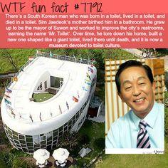 Mr. Toilet - WTF fun facts