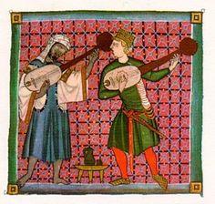 Juglares o músicos profanos
