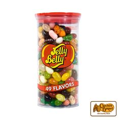 Enjoy a variety of flavors in this assorted container of Jelly Belly(R) flavors.     Answer fun questions and you could win in the Cracker Barrel Old Country Store Pick it to Win it Sweepstakes. Start 'picking' your answers at crackerbarrel.com/win (ends Jan 2, 2013).