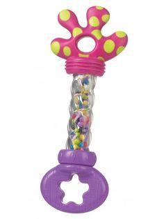 Present - Playgro Grab & Shake Wand Pink