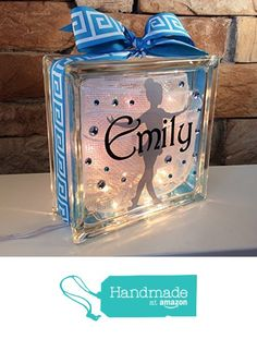 Young Dancer GemLight Personalized with Your Name and Colors from GemLights Gifts https://smile.amazon.com/dp/B0169JVHQQ/ref=hnd_sw_r_pi_dp_ReclzbK7PX13C #handmadeatamazon