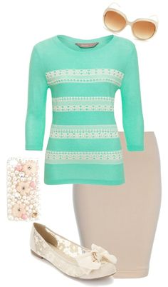 A fashion look from May 2013 featuring lace shirt, circle skirt and apple iphone case. Browse and shop related looks. Modest Outfits, Modest Fashion, Casual Outfits, Apostolic Fashion, Modest Clothing, Style Fashion, Jw Mode, Pretty Outfits, Cute Outfits