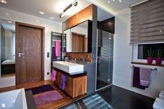 łazienka w domu jednorodzinnym - Łazienka - Styl Nowoczesny - A2 STUDIO pracownia architektury