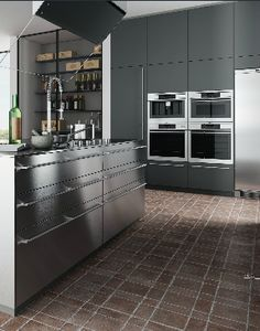 M_22 Mesonu0027s Italian Kitchen Range Available From S1 Kitchens, Hampshire  UK. Tall Tower Units