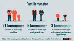 FLYGTNINGE KORT: Se hvilke flygtninge din kommune helst vil have 5/6-15