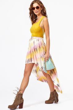 Highway Skirt (Nasty Gal)