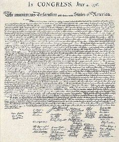 Adventures in HomeSchooling: A Brief Summary Of The Declaration of Independence...