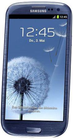 Samsung Galaxy S III/S3 GT-I9300 Factory Unlocked Phone - International Version (Pebble Blue). Price: $659.99