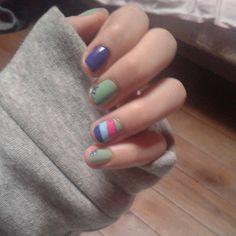#Nails#color#simple