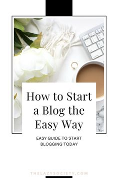Want to get blogging today but unsure how to start? Check this simple guide to start your blog the easy way in the next 45 minutes. Do it smarter, not harder! Click through to see. #newblog #startablog #newblogger #newblog #blogging Affiliate Marketing, Content Marketing, Social Media Marketing, Marketing Strategies, Email Marketing, Digital Marketing, Make Easy Money, Make More Money, Make Money Blogging