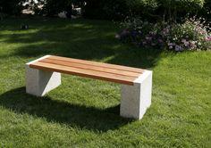 Hochwertig Garten Bank Insedeo. Granit / Holz 449 U20ac