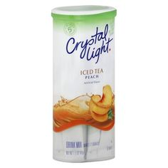 Crystal Light Peach Iced Tea Drink Mix 6 ct