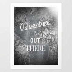 Adventure Art Print by Zach Terrell - $16.00 <3