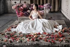 Lindsay Adler - Fashion Photography - Bridal - Bride - Dress - High-End - Luxury - Flowers - Romantic - Wedding