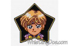 Super Sailor Uranus Cross Stitch Pattern