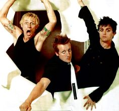 Just the best band in the world. Great Bands, Cool Bands, Green Day Billie Joe, Jason White, American Idiot, Billie Joe Armstrong, Falling In Reverse, Of Mice And Men, Blink 182