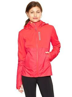 Gapfit Windbreaker Jacket - neon coral from Gap on Catalog Spree, my personal digital mall.