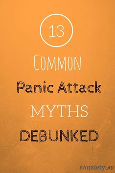 Panic attack causing a heart attack? How long can a panic attack last? Can panic attacks make you faint? The answers might surprise you! The information you wish you had when that first panic attack hit. The first myth is. Anxiety Causes, Anxiety Tips, Anxiety Help, Causes Of Panic Attacks, Anxiety Panic Attacks, Panic Disorder, Anxiety Disorder
