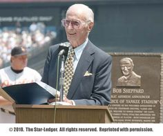 The voice of Yankee Stadium, Bob Shepherd