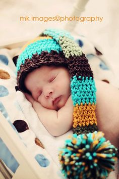 such a cute hat and baby picture    #Babies