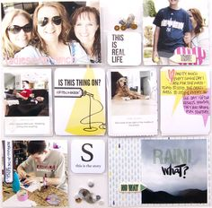 Fuse Pocket Page Love Scrapbook, Scrapbook Cover, Scrapbook Designs, Scrapbook Page Layouts, Scrapbook Pages, Scrapbooking, Project Life, Scrapbook Organization, We R Memory Keepers