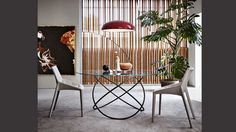 Controra Collection by Ron Gilad for Molteni & C | Pinterest | Armchairs