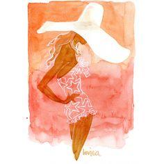 Starstruck, Art Print, $200.00 www.lovisaoliv.com