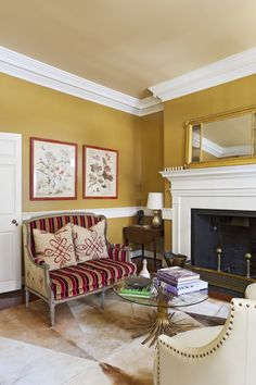 Baby, it's cold outside. But these design-savvy fireplaces and mantels will have you feeling toasty in style.