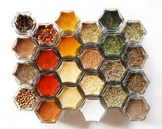 New Home & Housewarming Gift. Everything Spice Kit: 24 ORGANIC Spices in Hand-Stamped Glass Spice Jars. Ships Free!