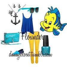 c81c8f236bad4 LIttle Mermaid inspired outfit ideas for adults. i already have those  sunglasses and a similiar
