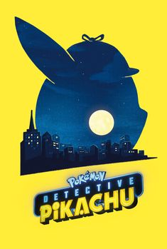 Pokemon: Detective Pikachu Poster - Created by Gabriele Tafuni Pikachu Pikachu, Detective, Video Game Posters, Movie Posters, Viewtiful Joe, Satoshi Tajiri, Be With You Movie, Box Office Collection, Art Competitions