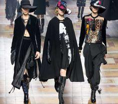 Lanvin Fall/Winter 2015-2016 Collection - Paris Fashion Week.